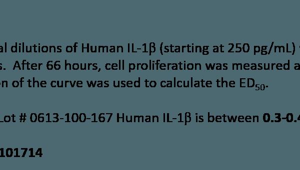 QP5290 IL-1 beta / IL1B